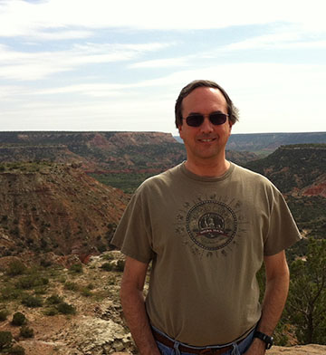Keith Goodnight at Palo Duro